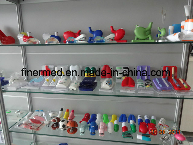 Bottle Heart Stomach Shaped Pop up Memo Dispenser pictures & photos