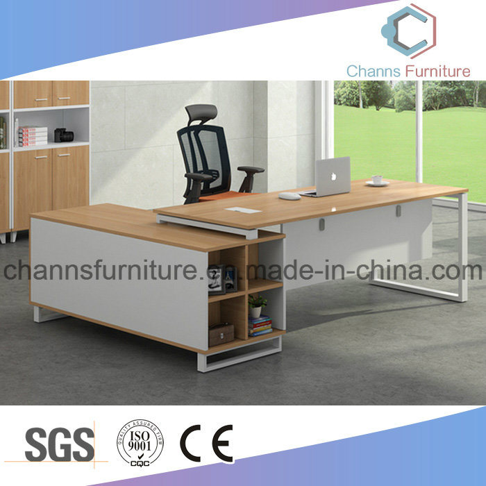 China Contemporary Furniture Metal Executive Table Manager Office Desk Antique Computer
