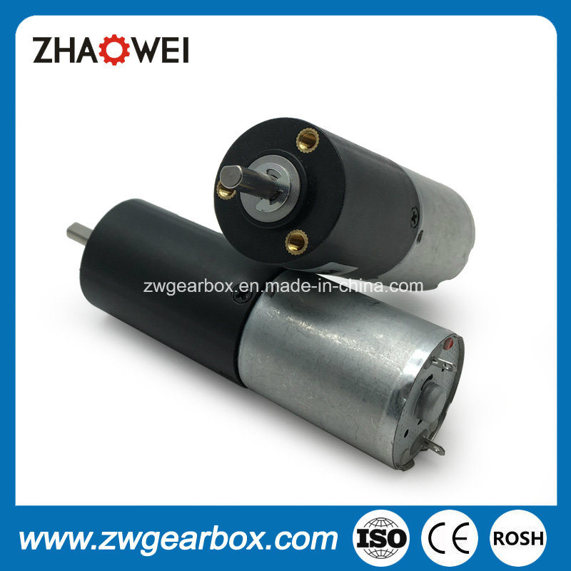 High Torque Low Speed 12V 24mm DC Geared Motor pictures & photos