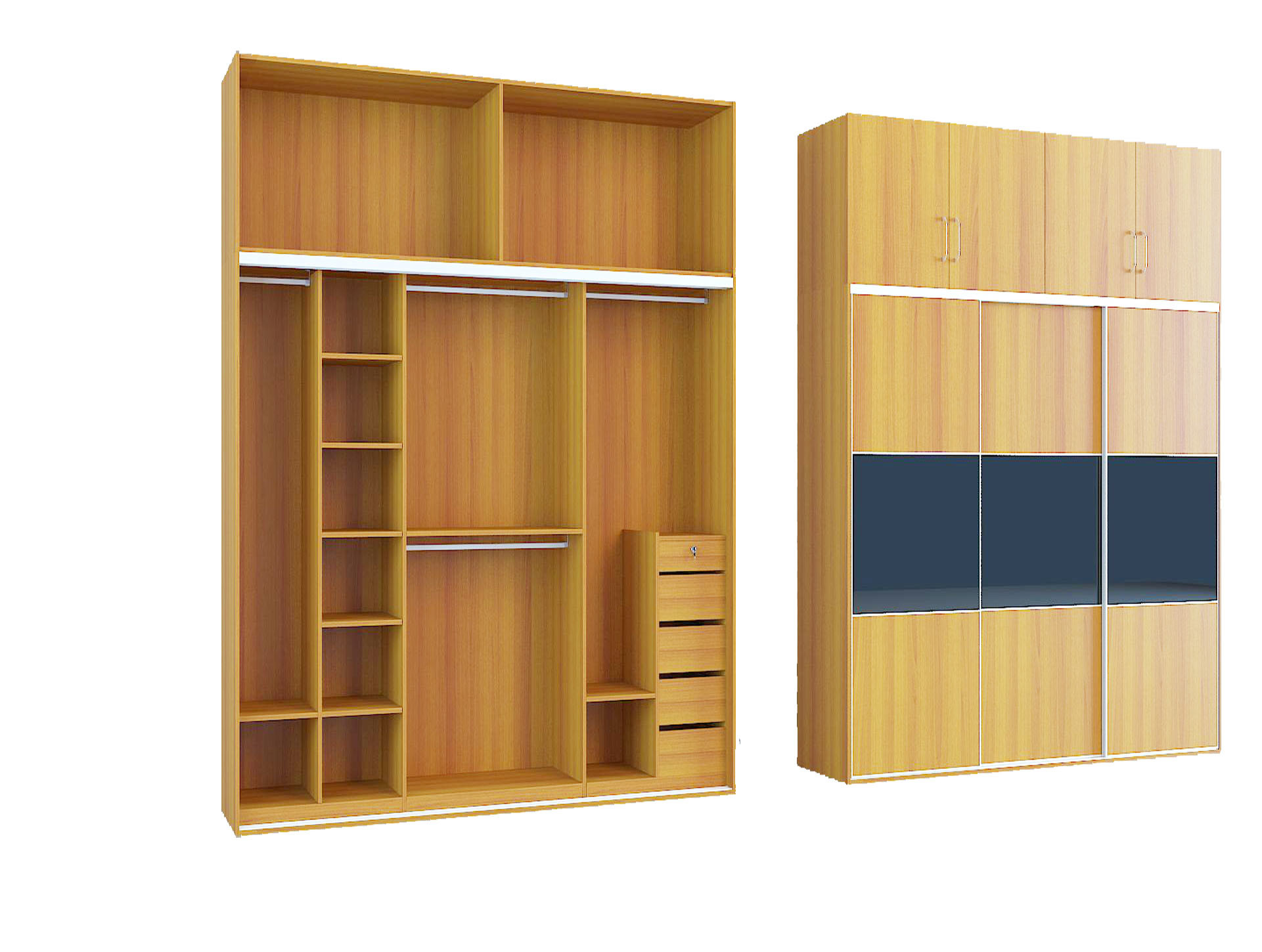 China Cheap Mfc Sliding Door Wardrobe China Wardrobe Door Sliding