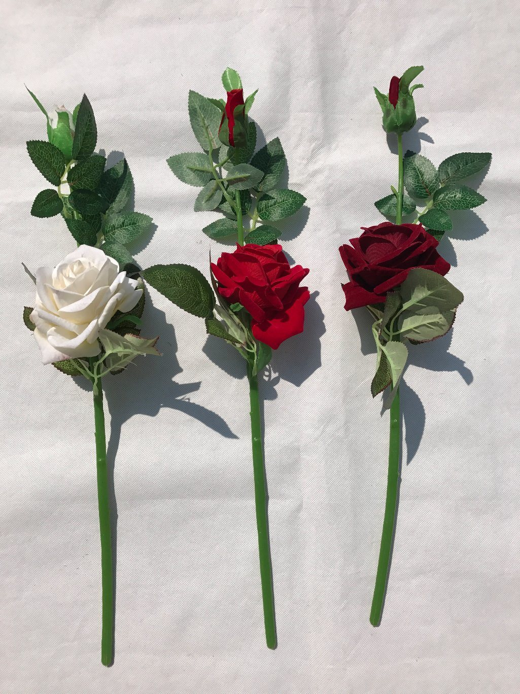 China Real Touch Rose Flowers Artificial Silk Flowers Home