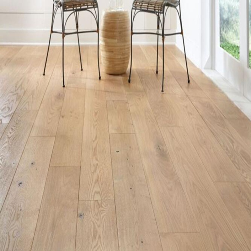 China 190 220 240 300mm White Oak Engineered Wood Flooring Wooden Floor Tiles Timber Parquet Hardwood