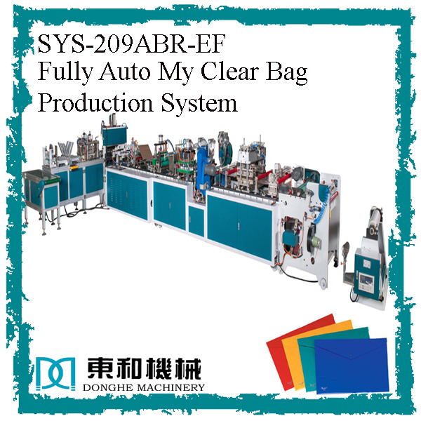 Fully Auto My Clear Bag Production System pictures & photos