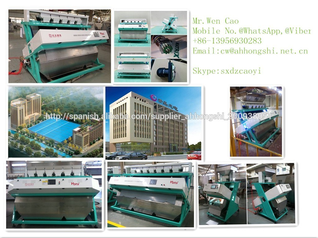 High Quality & New Intelligent CCD Rice, Sesame Color Sorter