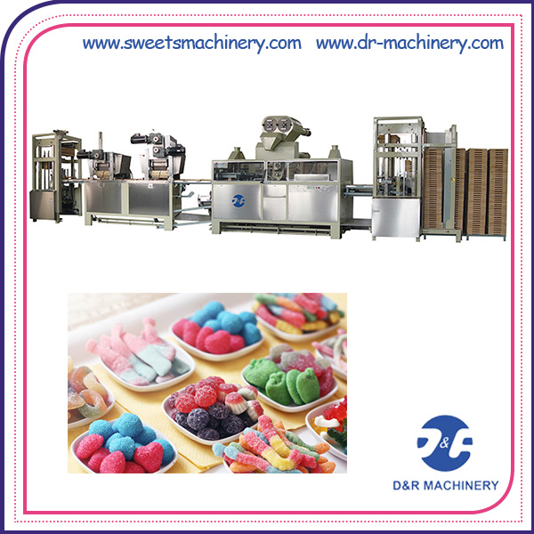 Automatic Mogul Line for Producing Gummy Candy