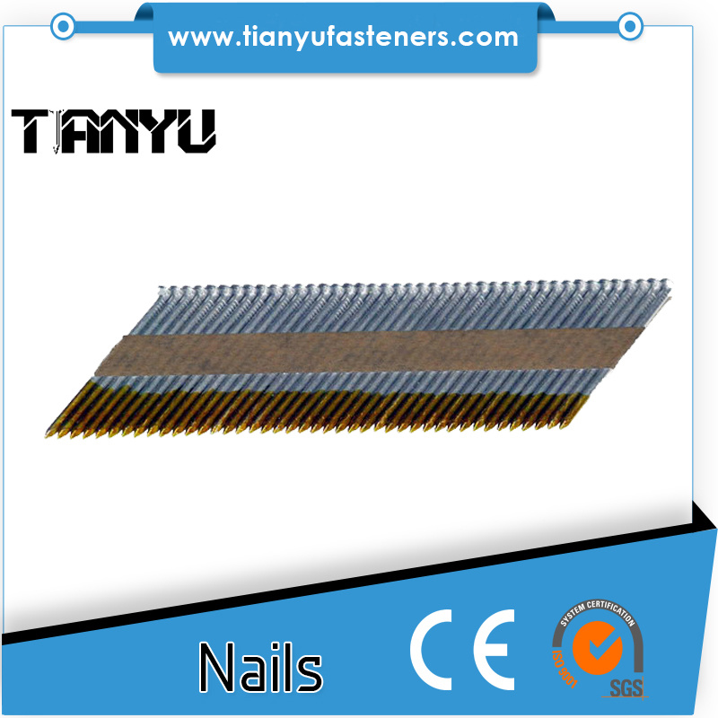 China Senco 34 Degree Paper Tape Clipped Head Framing Stick Nail ...