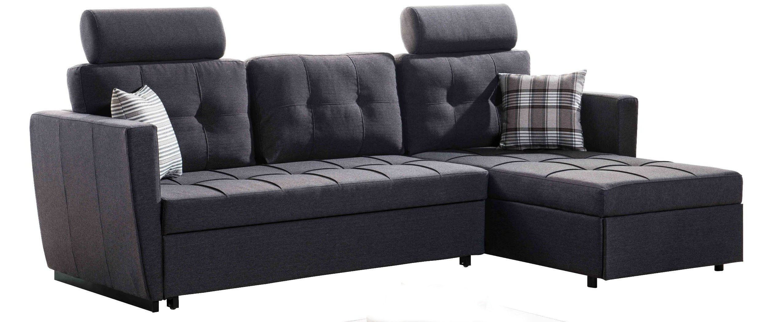 China Section Sofa Cum Bed With Drawer And Changeable Headrests   China  Corner Sofa Bed, Living Room Sofa