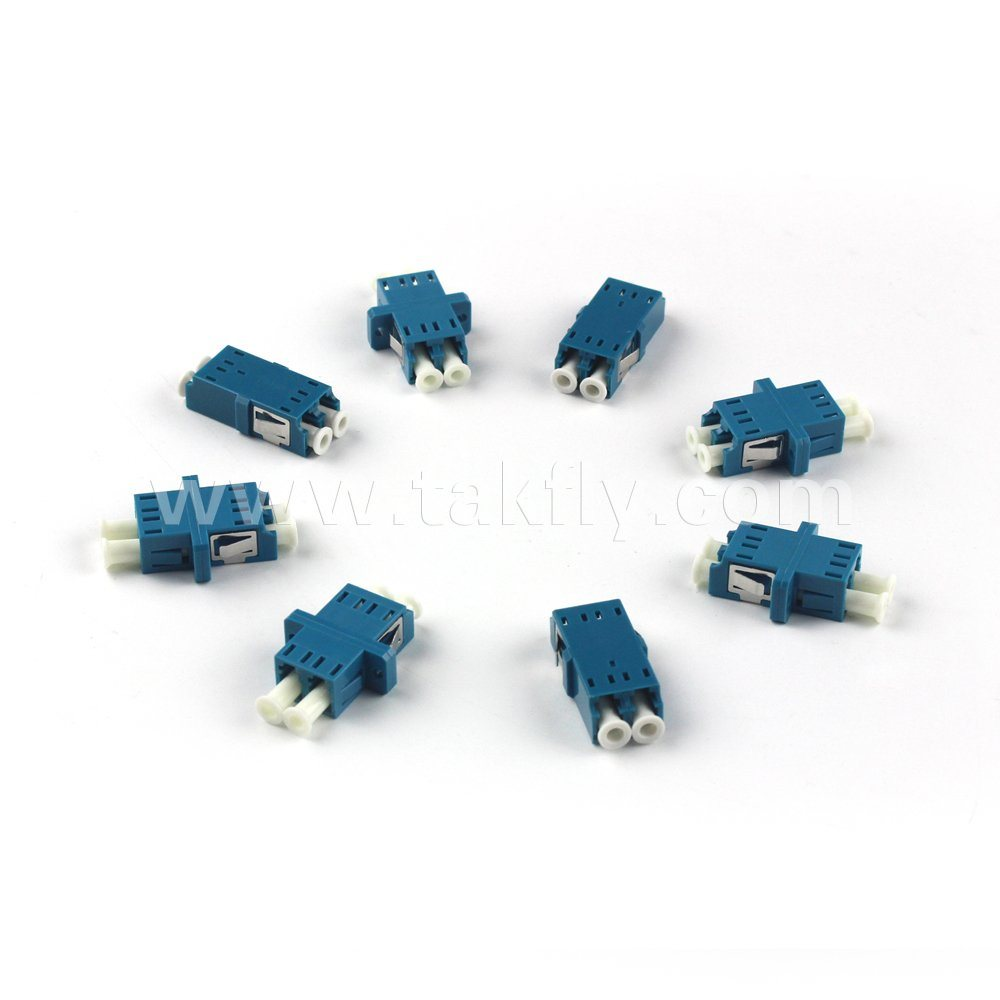 LC Single Mode Multi Mode Fiber Optic Adapter pictures & photos