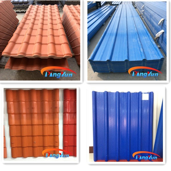 China One Layer Pvc Roof Sheet 3 Layer Upvc Roofing Tile
