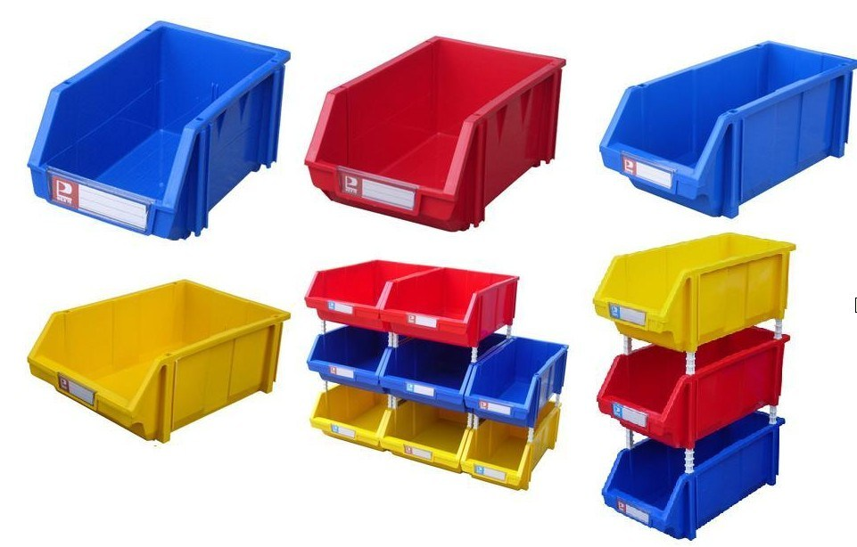 Warehouse Storage Plastic Bin Box