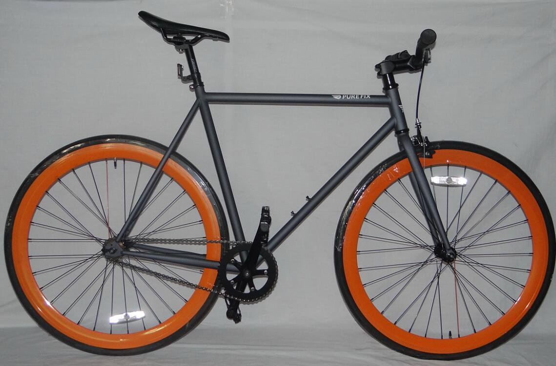 e4ccb12be China Purefix Fixie Bike Fixed Gear Bicycle Bicicleta with Steel Frame Flip  Flop (27015) - China Fixie Bike