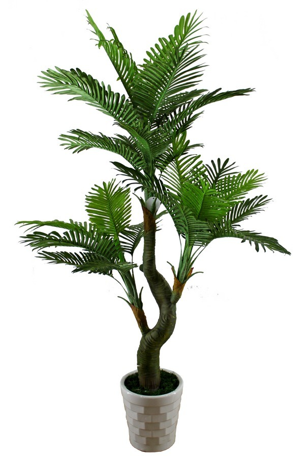 China Yellow Palm, Areca Fake Palm Tree, Plastic Plant, Artificial Plant (JTLA-0372) - Trees