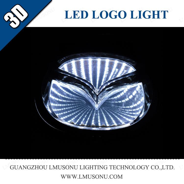 China Lmusonu Automobile Car 3d Led Logo Badge Light For Mazda