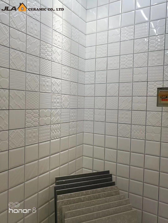 China White 6x6inch15x15cm Cheapest Ceramic Tile With Price Villa
