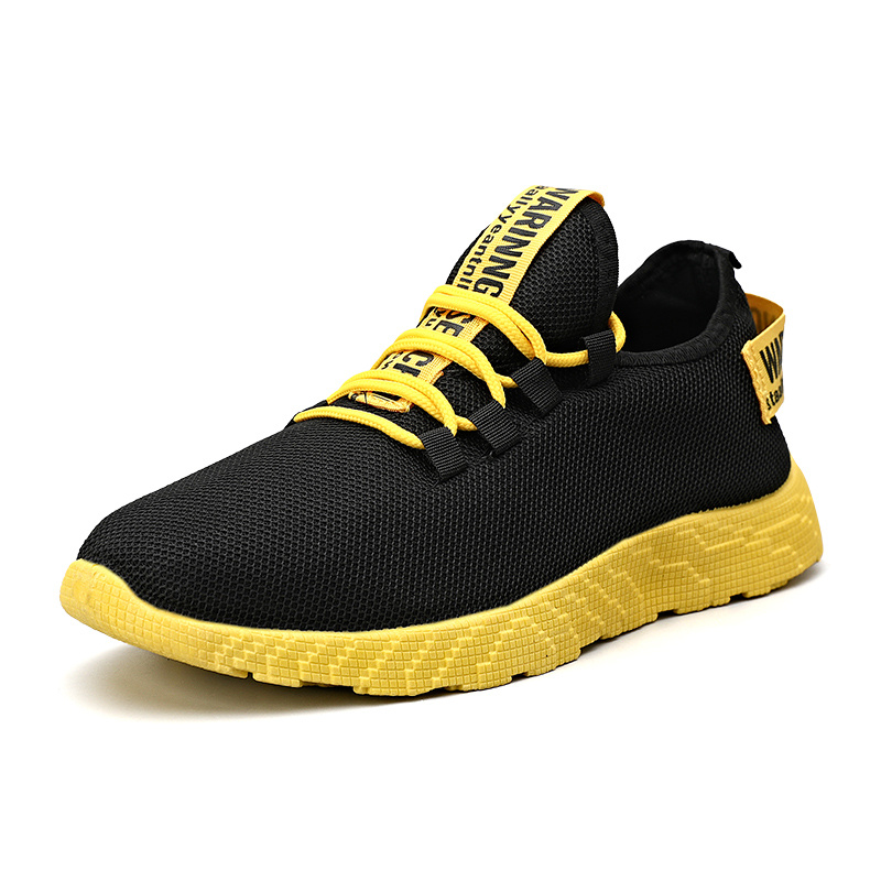 China Hot Sale Mens Breathable Mesh Sports Shoes Fashion