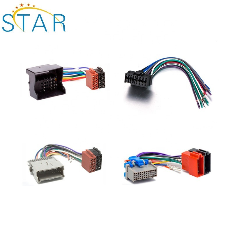 [hot item] replacement auto audi radio iso car connector wire harness Honda Wiring Harness