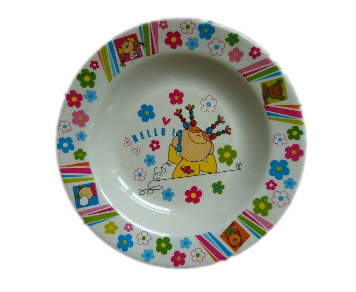 Plastic Melamine Charger Dinner Dish Plate for Restaurant pictures & photos