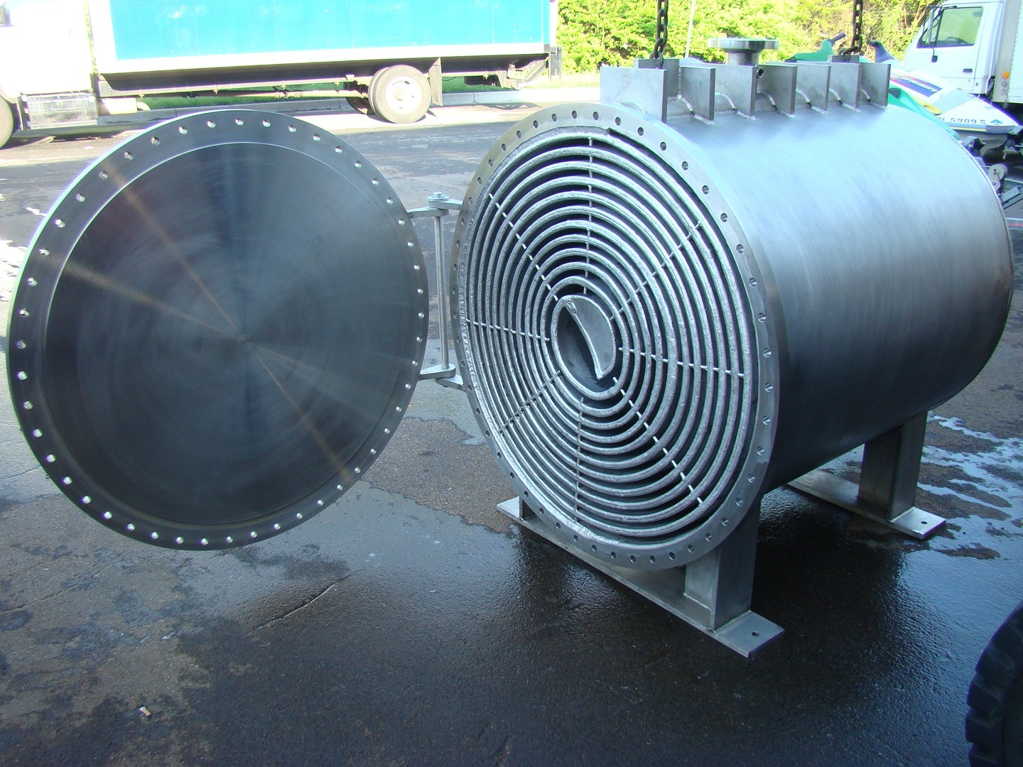 China spiral Plate Type Heat Exchanger Equipment Photos & Pictures ...