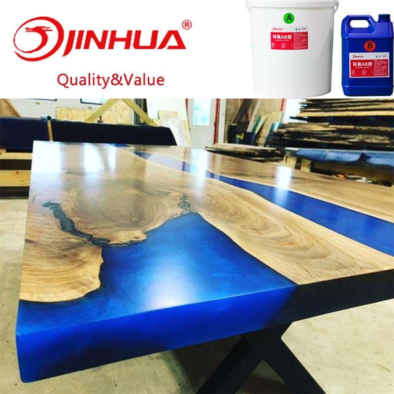 China Ultra Clear Resin For Diy Epoxy River Table Casting China