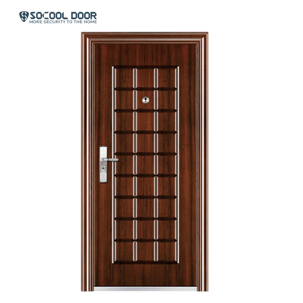 China Iron Door Pakistan Standard Size Commercial Entry