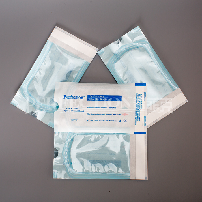 CE and ISO11607 Approved Self Sealing Sterilization Pouch