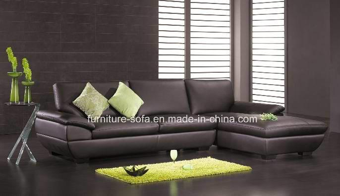 Modern Nice Chinese Leather Sofa S080