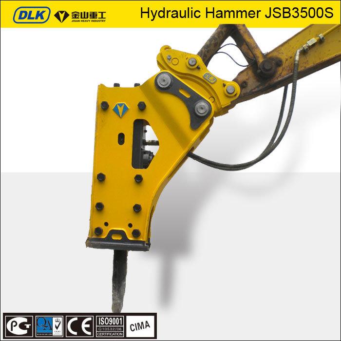 [Hot Item] Jsb Brands Hydraulic Rock Breaker, Hydraulic Breaker Chisel  155mm for Jcb Excavator