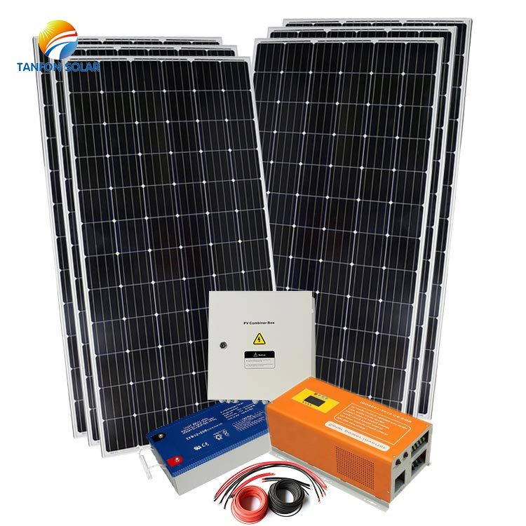 China Solar 2kw off Grid Home Solar Power System for Home ...