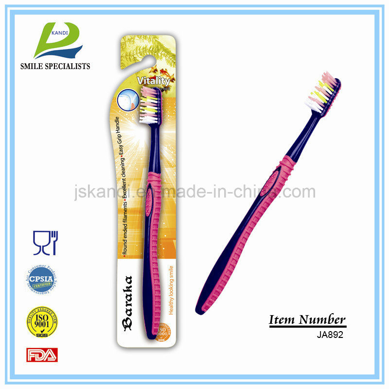 OEM Eco-Friendly Nylon Adult/Child/Kid Personal Care Travel Tooth Brush pictures & photos