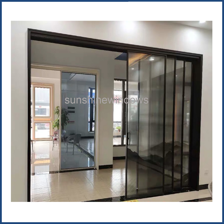 China Aluminum Frame Gl Sliding Door