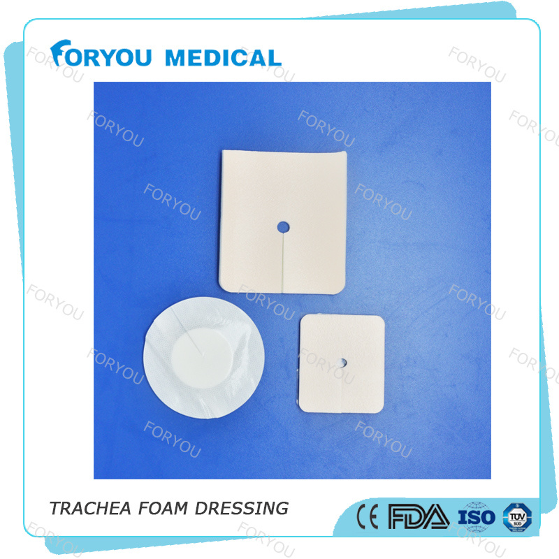 Surgical Wound Dressing Polyurethane Adhesive Foam Dressing 4 X 4 Inch - Sterile pictures & photos