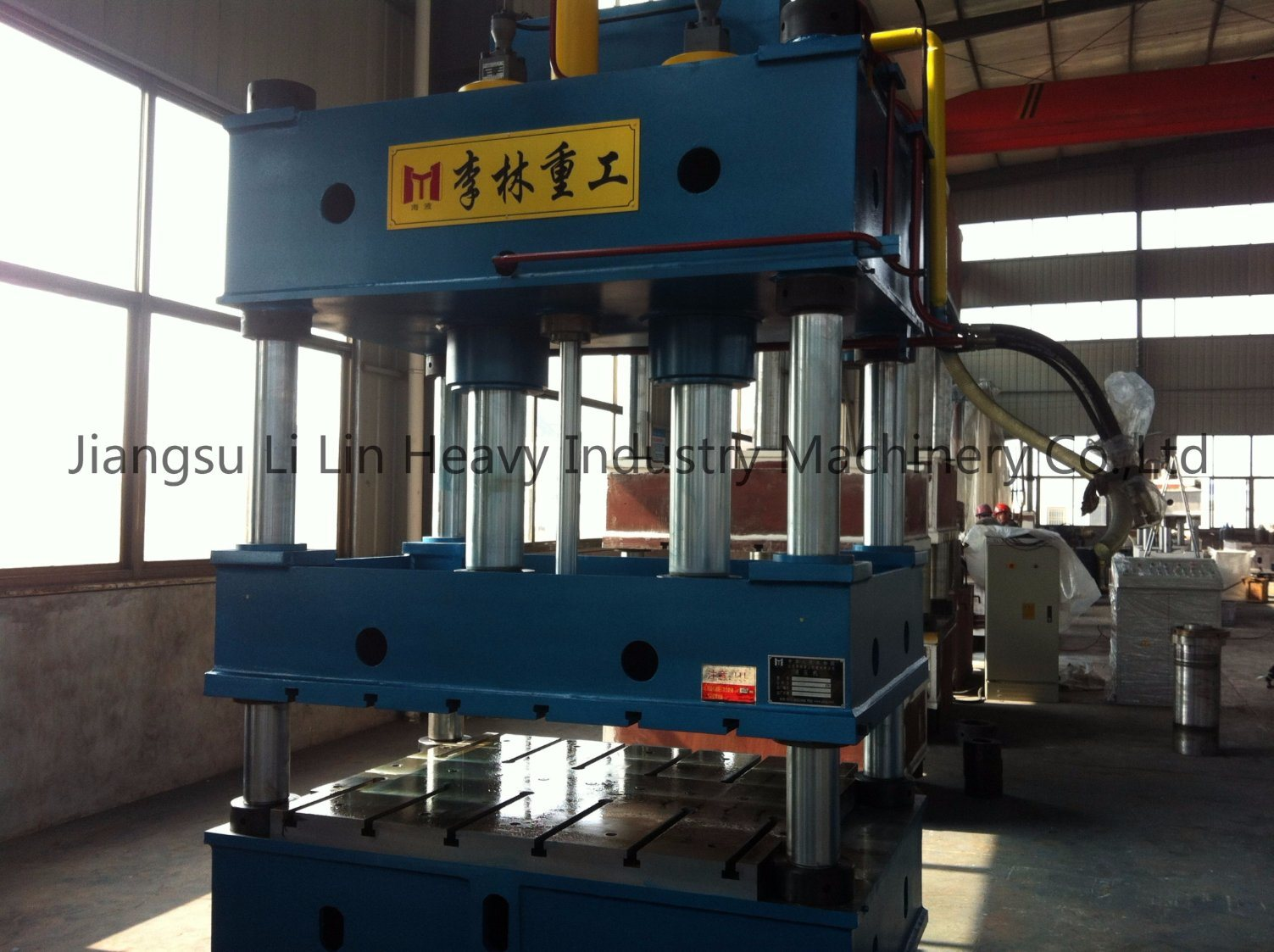 Four-Column Single-Movement Hydraulic Press for Sheet Metal Drawing Yll27-400