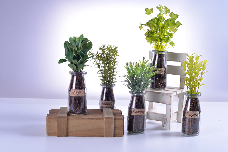 china home or office decoration pleasant artificial herbs plants in