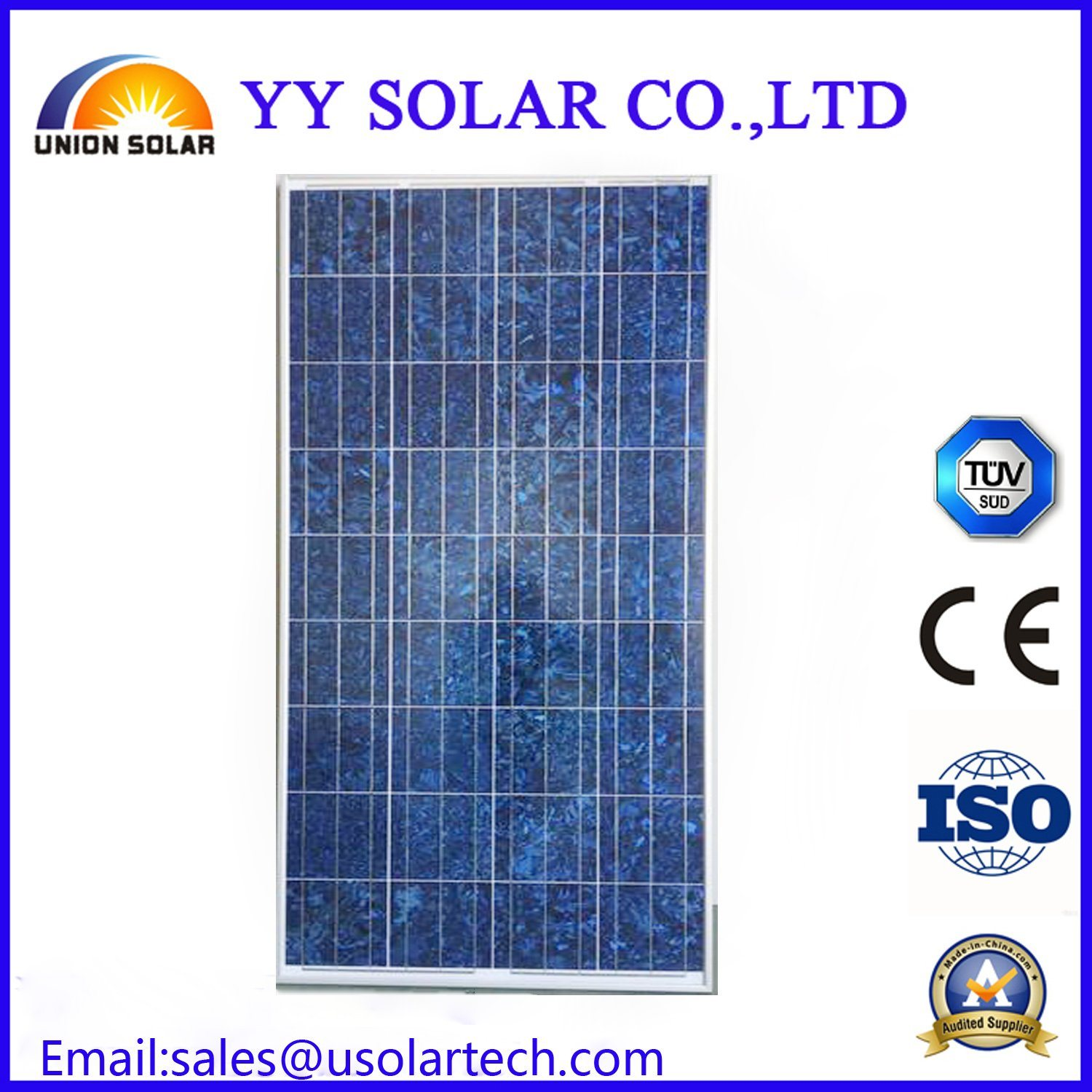 150W Colorful Ce/TUV Solar Panel for Sale