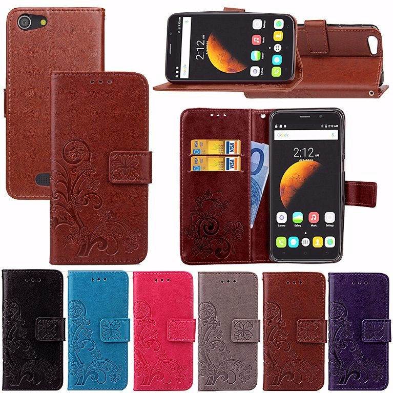 PU Leather Flip Case for Cubot Dinosaur