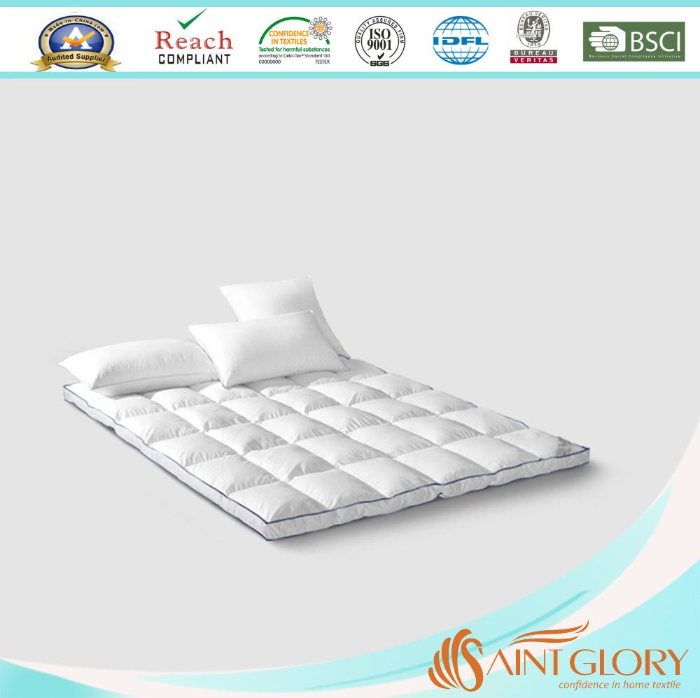 Duck Or Goose Pillow Top Mattress Pad