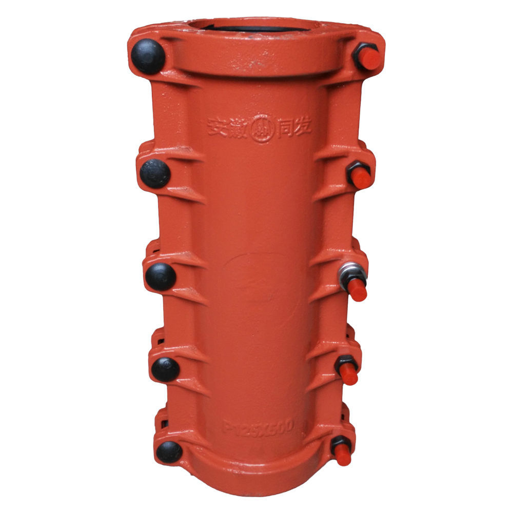 Pipe Repair Clamps P125X500, Split Sleeve, Pipe Repair Coupling for PE, PVC Pipe, Leaking Pipe Quick Repair
