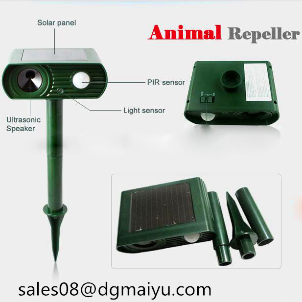 Factory Offer Newest Solar Animal Repeller-Mouse Repeller Snak Repeller Dog Repeller Birds Repeller