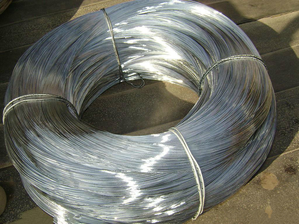China 25-200kg Coil 0.7-3.5mm Hot Dipped Galvanized Steel Wire ...