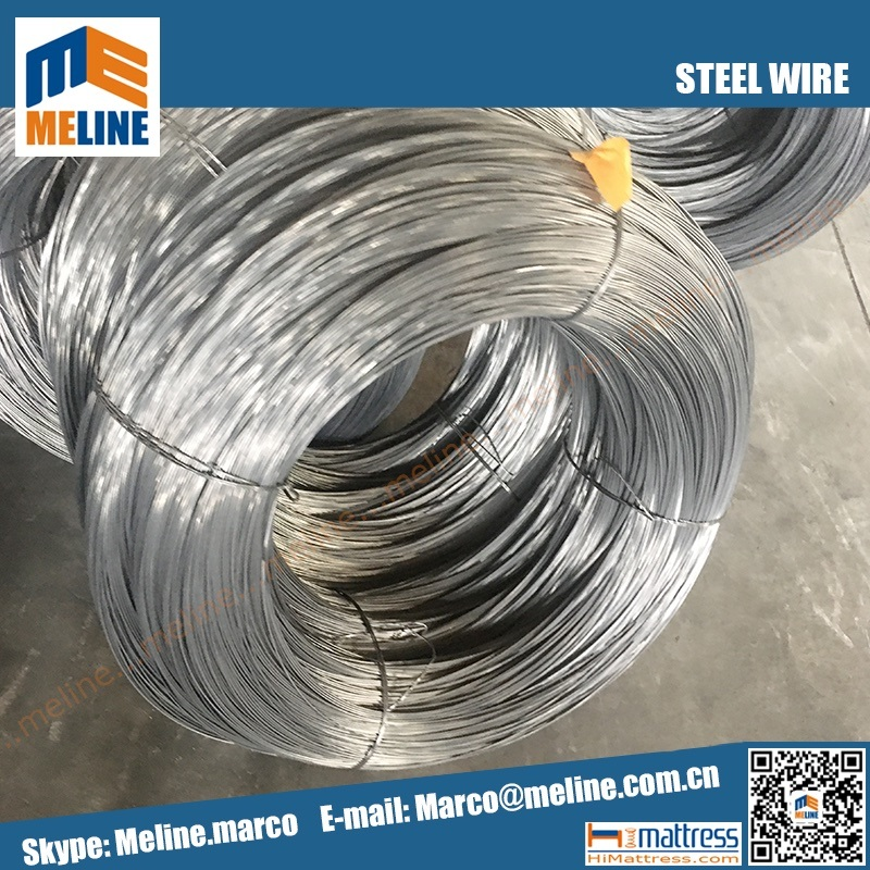 China 2.4 mm High Carbon Steel Wire for Bonnel Spring Mattress, Me ...
