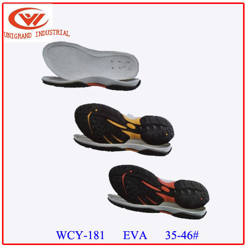 Fashion Summer Wear-Resisting Sandals Sole with for Making Sandals
