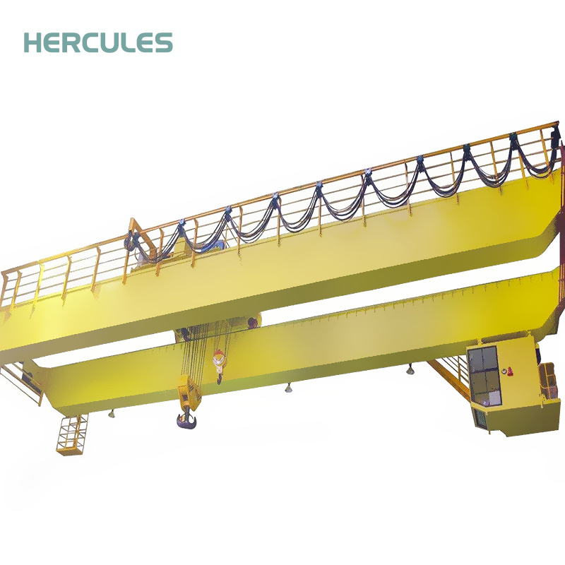 Qd5-800t Eot Double Girder Crane for Smelter Factory pictures & photos