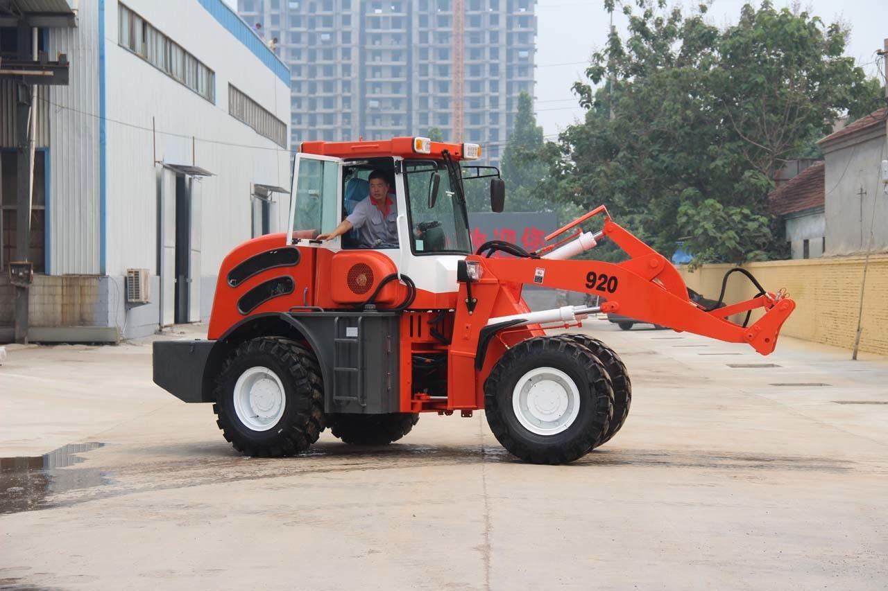 China fabrik direkt tonnen radlader kleine gelenk frontlader mit
