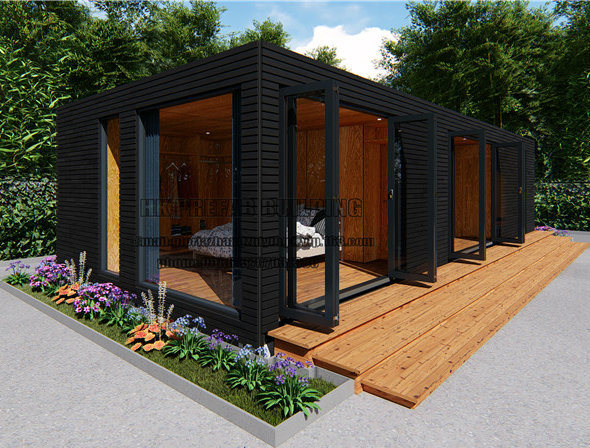 High Quality Long-Lasting Modular Prefab/Prefabricated Shipping Container House pictures & photos