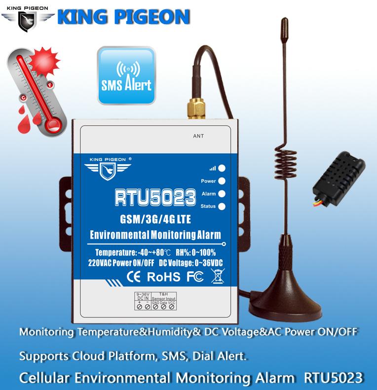[Hot Item] Temperature Humidity System RTU5023 GSM Remote Monitoring  Support Modbus RTU/TCP