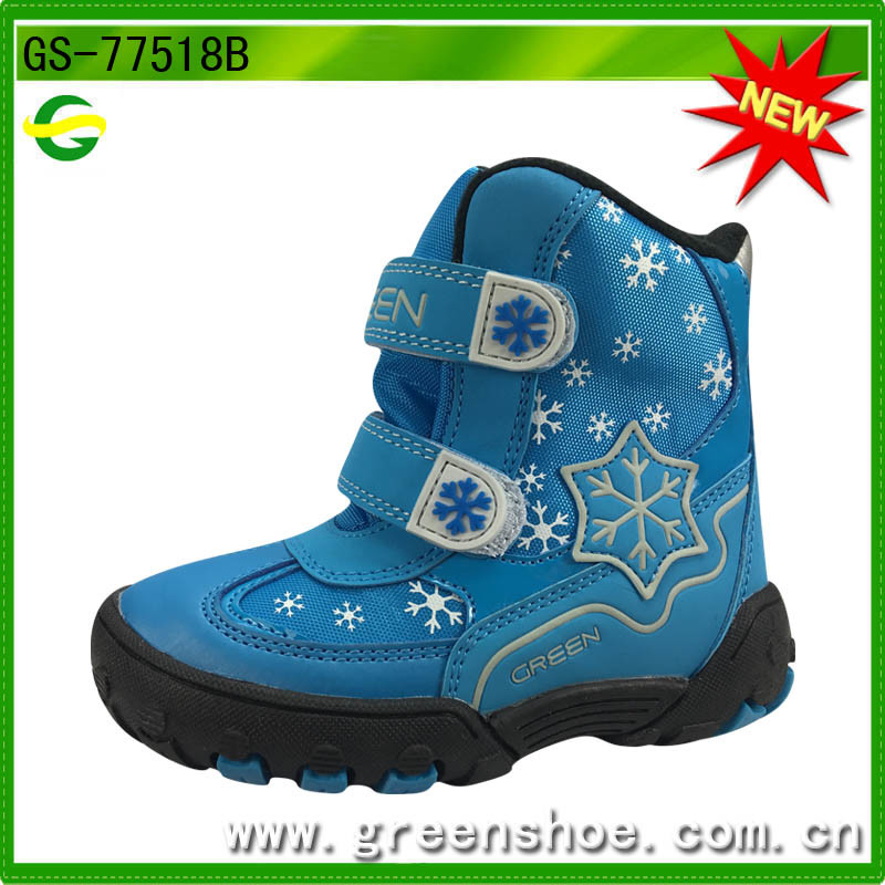 New Arrival Warm Winter Snow Boots for Children Girls pictures & photos