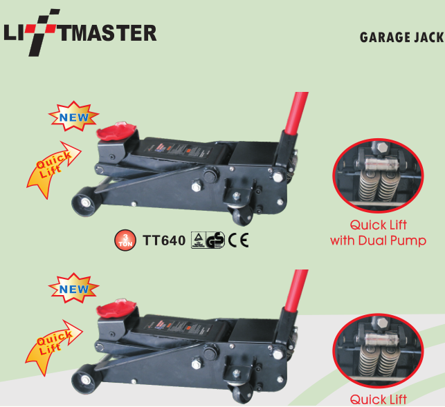3 Ton 70mm Ultra Low Profile Floor Jack