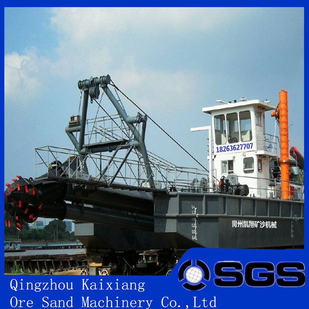 Low Price Cutter Suction Dredger for Sand Mining pictures & photos