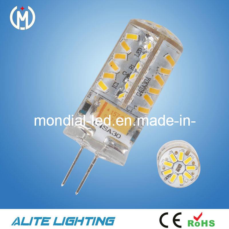 G4 160 lm 3000 K McShine LED Pin Base Lamp Silicia Warm White 2 W