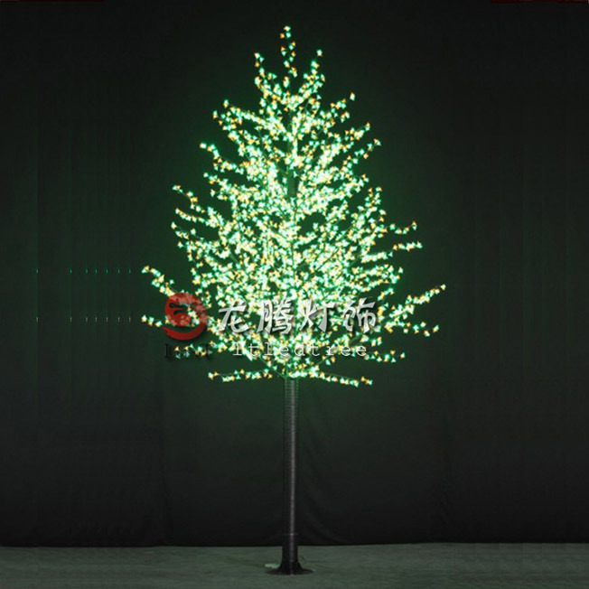 Artificial Led Lighted Trees, Outdoor Lighted Trees Artificial